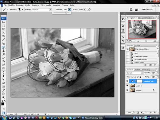 tutorial per Photoshop: immagini in bianco e nero e a colori