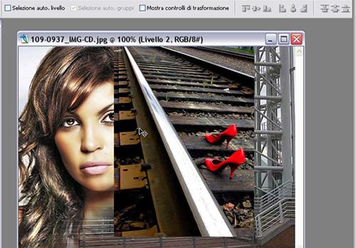 scala dimensioni immagine con Photoshop