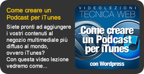 Come creare un podcast per itunes con wordpress