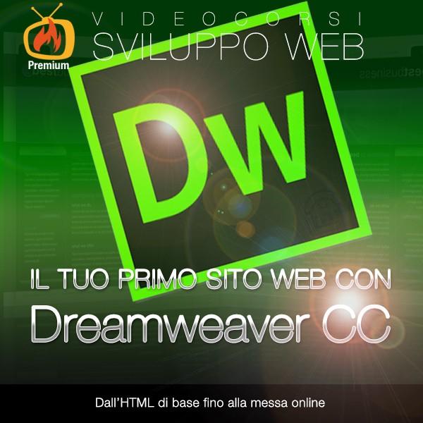 Il tuo primo sito web con Dreamweaver CC