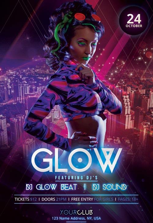 Glow-party-freebie-flyer-template-psd-freepsdflyer-com