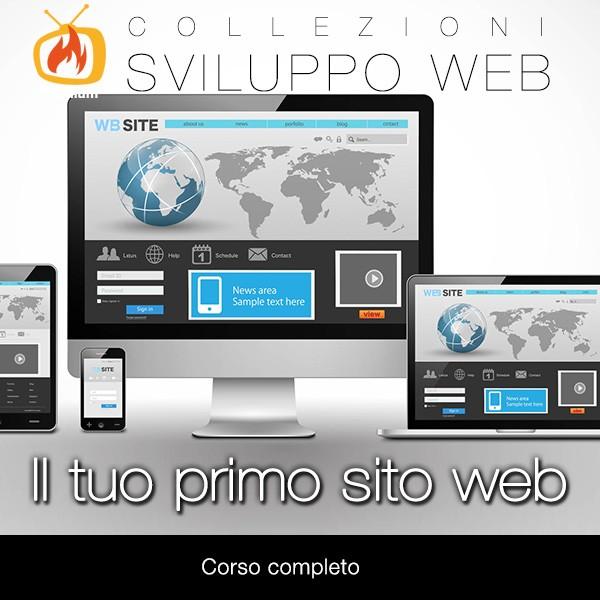 Il Tuo Primo Sito Web - Corso Completo