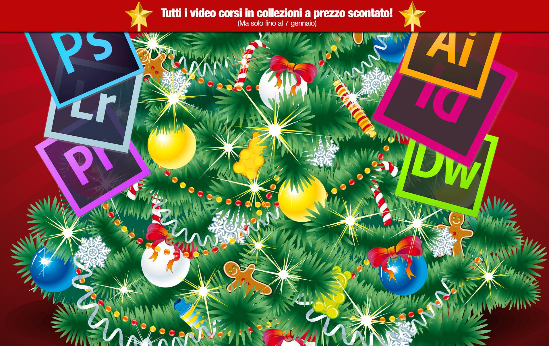Sconti di Natale su tutte le collezioni
