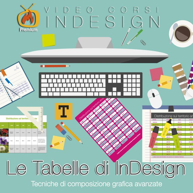 Le tabelle in InDesign