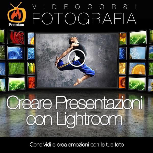 Creare presentazioni con Lightroom