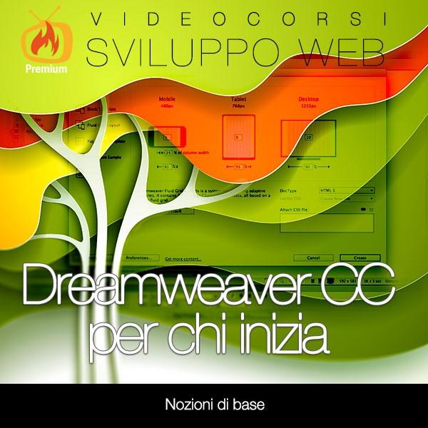 Dreamweaver CC per chi inizia