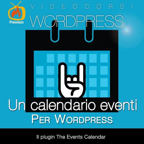 Un calendario eventi per Wordpress