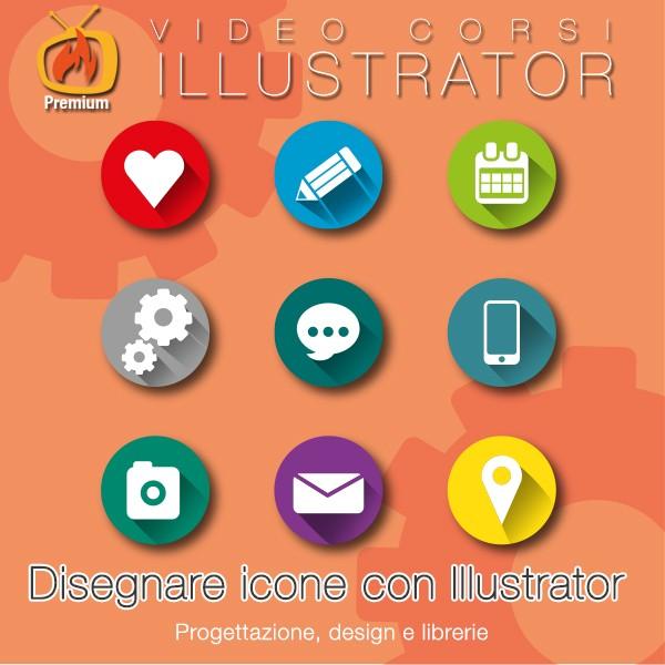 Disegnare icone con Illustrator