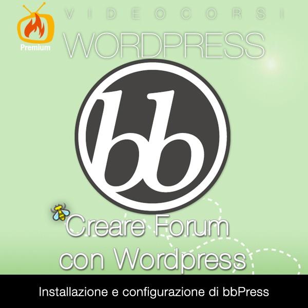 Creare Forum con Wordpress