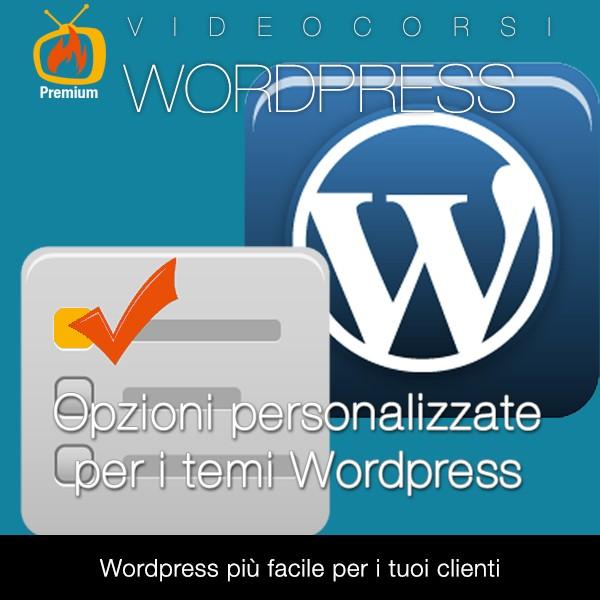 Opzioni personalizzate per i temi Wordpress