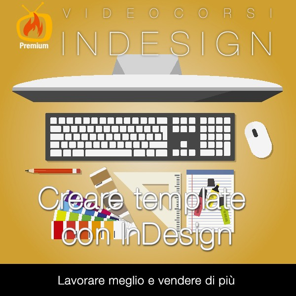 Creare template con InDesign