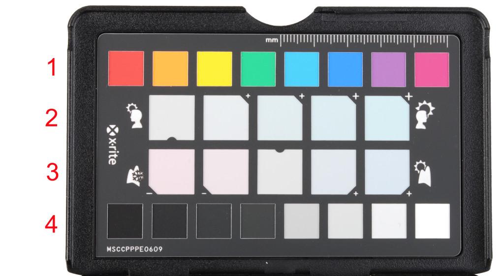 ColoChecker passport colori tavolozza