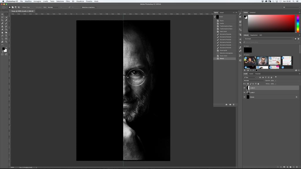 Steve Jobs Photoshop
