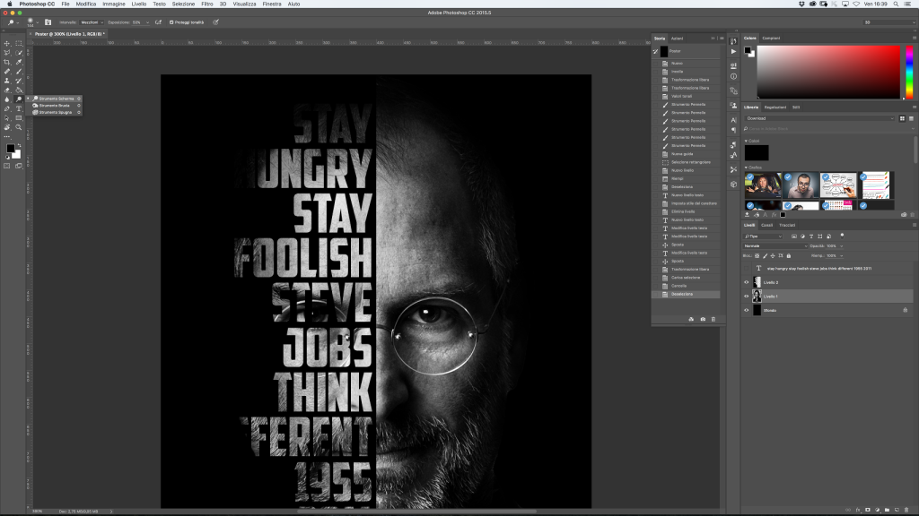 steve jobs photoshop