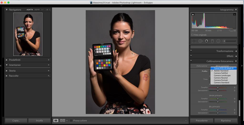 selezione-profilo-fotocamera-lightroom