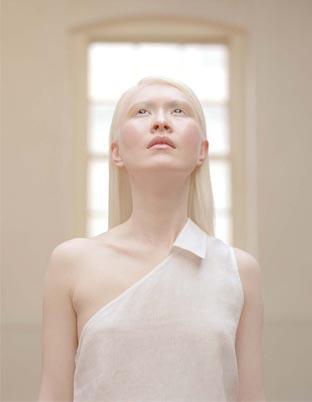 connie chiu albino