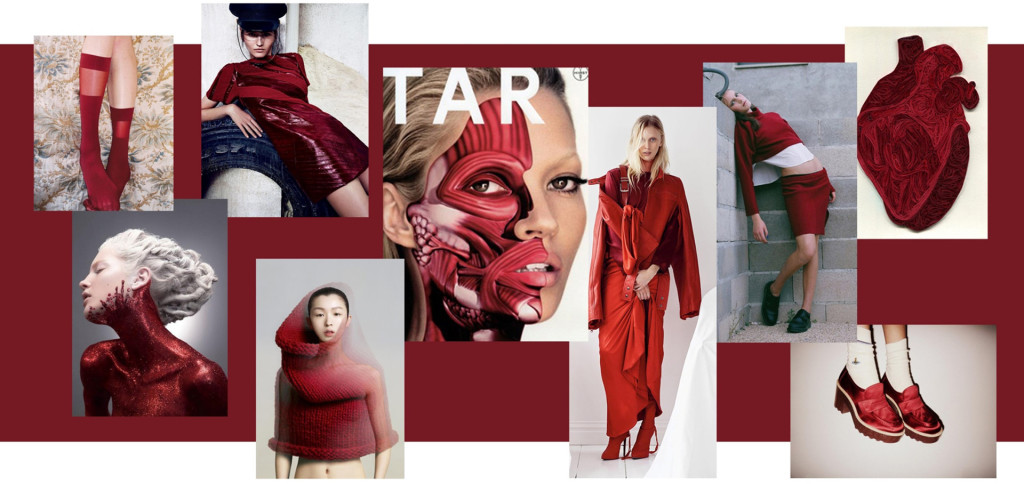 rosso pantone moda