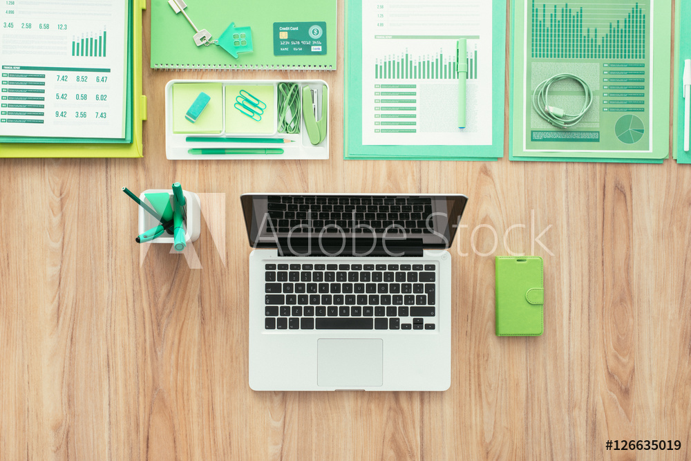 pc adobe stock mac grafica greenery