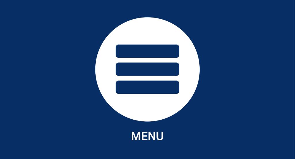 icona menù hamburger