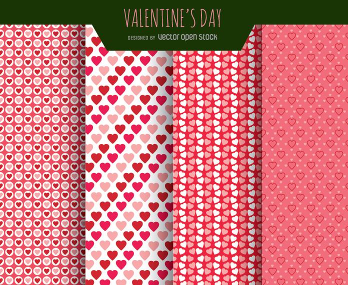 Pattern free San Valetino
