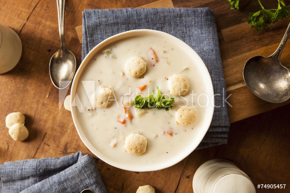 New York zuppa di vongole