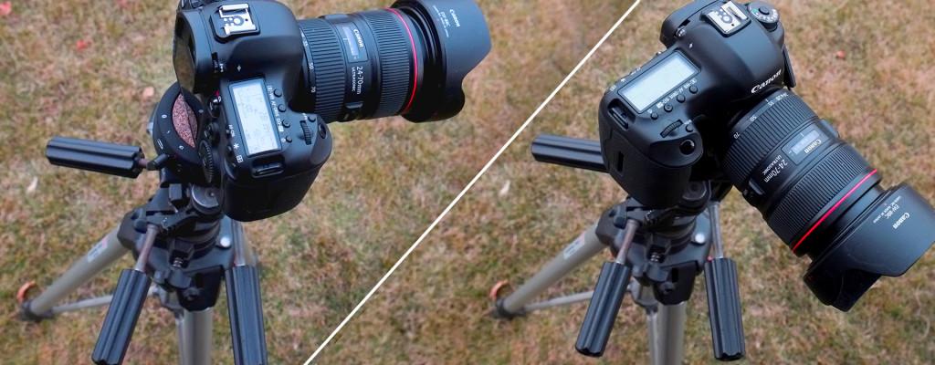 macchina fotografica prima dopo