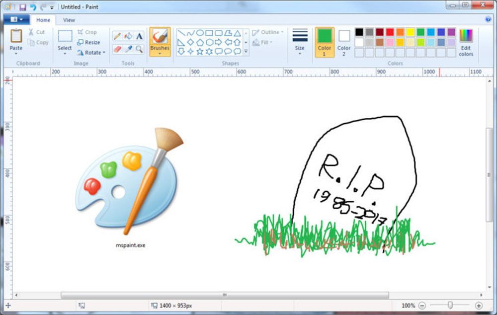 Anche Con Microsoft Paint A Volte Si Pu Total Photoshop